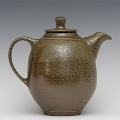 Salt Glazed Teapot  paul herman