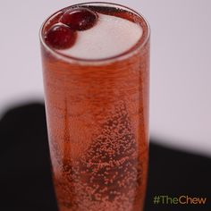 Cranberry-Rosemary Spritz by Clinton Kelly! #TheChew