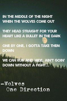 Wolves One Direction
