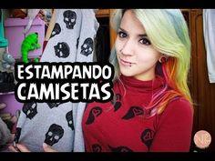 ✄ | DIY | Faça Você Mesma Como estampar camisa em casa com Papel Transfer SIMPLES e FÁCIL - YouTube