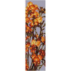 Botanical 4 Peyote Bead Pattern, Bracelet Cuff, Bookmark, Seed Beading Pattern Miyuki Delica Size 11 Beads - PDF Instant Download by SmartArtsSupply on Etsy