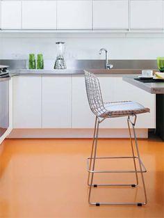Resina: piso lisinho e sem quebra-quebra