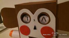 "250 Likes, 14 Comments - وسائل تعليمية  للأموالمعلمة (@w.s.a.y.l) on Instagram: ""طريقة الصندوق للي يبونها: كرتونه مربعه حجم متوسط اوصغير  اقص بالمشرط دائرتان من الامام للعينين…"""