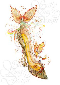 Autumn,sally king,shoes,womens shoes,boots,womens boots,womens fantasy shoes,ladies shoes,