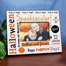 Spooktacular Personalized Printed Halloween Picture Frames