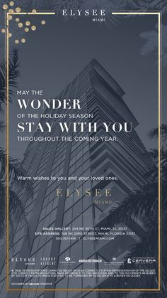 Elysee Miami // holi