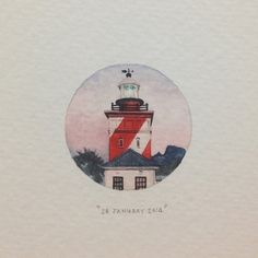By Lorraine loots Day 28 : The Green Point lighthouse (often referred to as Mouille Point lighthouse). For many years, opposite the lighthouse was a driv. Pencil Art Drawings, Cute Drawings, Art Sketches, South African Artists, Easy Watercolor, Beautiful Drawings, Art And Architecture, Art Inspo, Illustration Art