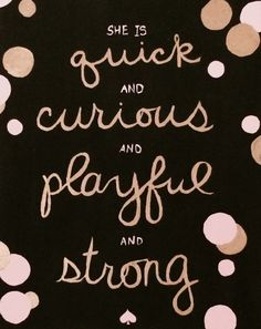 Kate Spade canvas quote