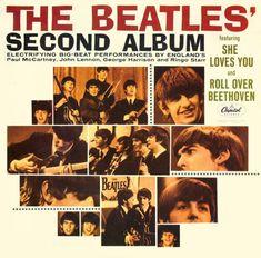 Beatles album cover.