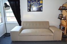 Custom Designed Tufted Sleeper Sofa