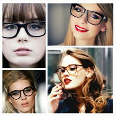 Makeup look con occhiali