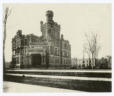 The Potter Palmer mansion, which stood at 1350NLake Shore Drive, shortly after completion in 1885.