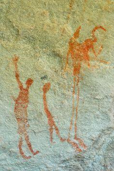 san bushmen rock art #3