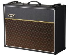 One of popular music's great tone kings: the VOX AC30. If it's good enough for Brian May, Paul Weller and Peter Buck, it's good enough for me!