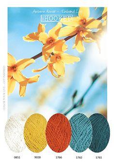 ❤ =^..^= ❤ Autumn tones | Kleurinspiratie | MrsHooked