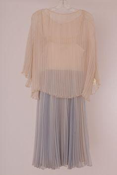 Giorgio di Saint'Angelo 1970 silk chiffon cocktail dress.  charnalee    Etsy