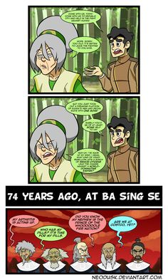 LoK: The Older Masters by Neodusk on DeviantArt