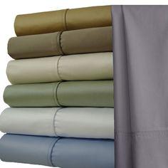 "Royal Tradition 1000TC Egyptian Cotton 4pc Sheet Set 22"" Deep Pockets ALL SIZES #RoyalTradition #Contemporary"