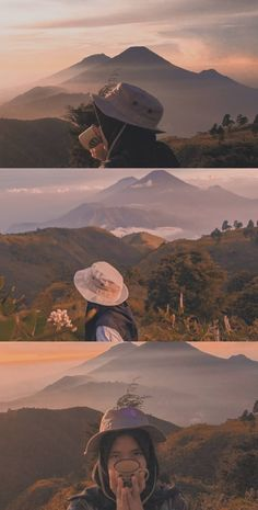 Prau dieng Aesthetic Photo, Aesthetic Girl, Aesthetic Pictures, Adventure Aesthetic, Girl With Brown Hair, Mountain Wallpaper, Islamic Girl, Ootd Hijab, Face Photo