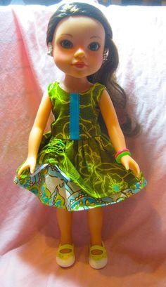 Matilda Jane Dress Sewing Pattern for Heart 4 Heart Girls & Groovy Girls by ahacustoms, $4.99