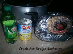 crock pot holiday ham