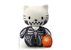Hello Kitty CAVEIRA - toy comemorativo do Halloween