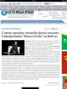Presentazione del Libro di STASERA OVULO a Roma nella trasmissione Uno Mattina Caffé [RAI 1]