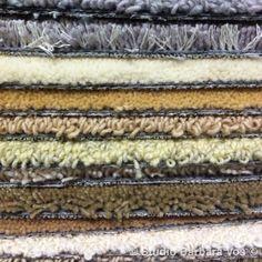 Pile of carpets