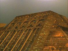 Tyrell corp. Building via Blade Runner