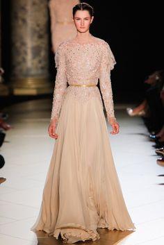 Elie Saab Fall 2012 Couture Fashion Show - Mackenzie Drazan