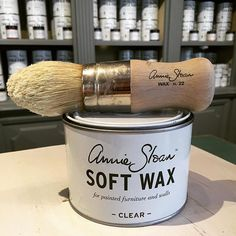 ✨A match made in heaven! Annie Sloan's Soft Waxes are the perfect companion to Chalk Paint® Soft Wax in Clear acts as a protective sealer to your matte finish, while Soft Wax in Dark adds an aged-patina look Link in bio for tips!  #bestbuds #counterpart #project #anniesloan #chalkpaint #morethanpaint #softwax #diy #home #decor #interior #design #tips #shoplocal #paintpassionnj #redbank #nj #newjersey #monmouthcounty