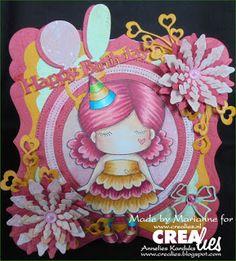 Crealies: Happy Birthday