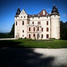 Château de pupetiere ( Isère grenoble ) France