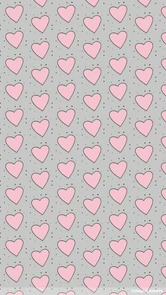 Pink and grey bubbly hearts whatsapp wallpaper Wallpaper For Your Phone, Heart Wallpaper, Love Wallpaper, Screen Wallpaper, Pattern Wallpaper, Wallpaper Backgrounds, Iphone Wallpaper, Whatsapp Pink, Whatsapp Wallpaper