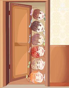 Hyuna Red, Astro Wallpaper, Astro Fandom Name, Eunwoo Astro, Kpop Drawings, Sanha, Cute Chibi, Kpop Fanart, Kpop Groups