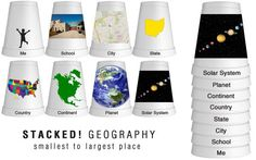 Me on the Map | Geography Activities, Geography and Maps
