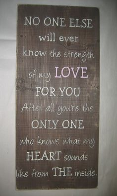 New LARGE 12 x 25  No one else will ever know by CottageSignShoppe, $65.00