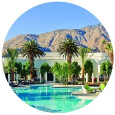Palm Springs, CA – Lawrence Welk's Desert Oasis Desert Oasis, Palm Springs, Wall Decals, Wall Art, Nook, New Homes, California, Mansions, House Styles