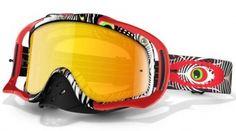 brýle Oakley Crowbar MX TLD Sign. Series TLD discharge red/fire iridium - Skateshop a snowboard shop | SWIS-SHOP.cz