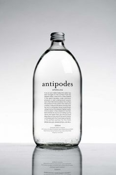 Parfume 10 unusual examples of packaging for organic and natural products Your Teen: Tips On Success Water Packaging, Glass Packaging, Organic Packaging, Bottle Labels, Vodka Bottle, Water Bottle, Bottled Water, Design Package, Label Design