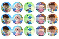 He encontrado este interesante anuncio de Etsy en https://www.etsy.com/es/listing/125881198/sale-1-circles-doc-mcstuffins-stuffie