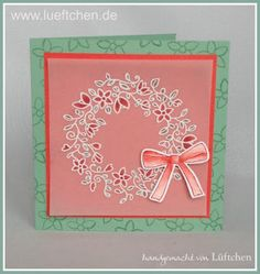 Lüftchen Stempelstudio Bergedorf: Frühlingsreigen, Frühlingsreigen die zweite, circle of Spring; Kranz, Stampin Up!