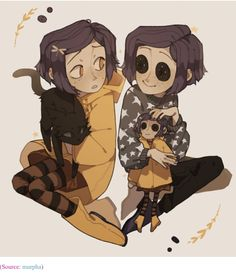 This is a beauty fan art from Coraline, my best congratulations from the person how drawing this! Coraline Art, Coraline Jones, Pretty Art, Cute Art, Eyes Artwork, Cartoon Fan, Cartoon Movies, Cartoon Characters, Animation