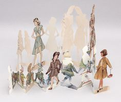 Paper Doll Morphology, by Gina Pisello 2011