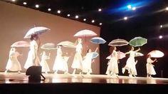 Vitória na apresentação do  Ballet