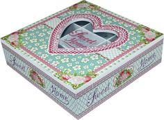 Šperkovnica Sweet Home Sweet Home, Retro Vintage, Decorative Boxes, Design, Home Decor, Decoration Home, House Beautiful, Room Decor