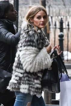 The Olivia Palermo Lookbook : Olivia Palermo Arriving To Her Apartment In New York