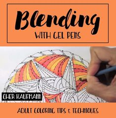 Coloring skills not up to par? This massive collection of adult coloring tutorials will show you new techniques for colored pencils, markers and more! Coloring Tips, Colouring Pages, Coloring Books, Coloring Stuff, Coloring With Gel Pens, Colored Pencil Tutorial, Colored Pencil Techniques, Gel Pen Art, Colouring Techniques
