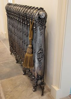 The Antoinette cast iron radiator would add character to any room. For more information please visit our website: www.ukaa.com