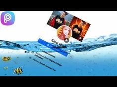 PicsArt || Trending Facebook Underwater Profile Editing Tutorial On Android Phone - YouTube Facebook Trending, Student Studying, Picsart, Underwater, Android, Profile, Phone, Youtube, Movie Posters